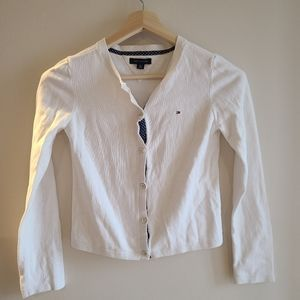 Tommy Hilfiger white cardigan
